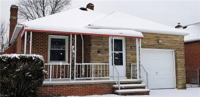 Parma Single Family Home For Sale: 2822 North Ave