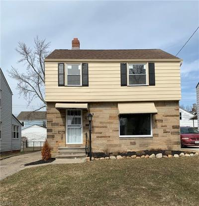 Cleveland Single Family Home For Sale: 15903 Eldamere Ave