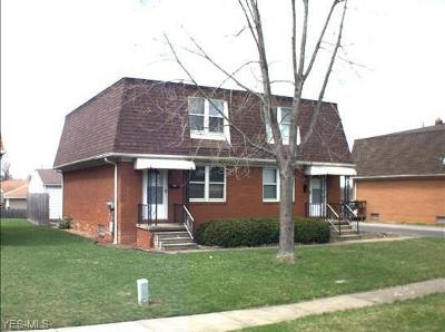 Girard Multi Family Home For Sale: 1132 Highland