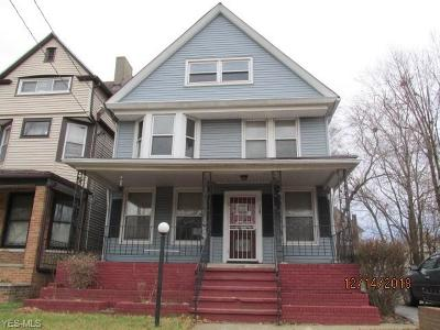 Cleveland Single Family Home For Sale: 1587 East 93rd St