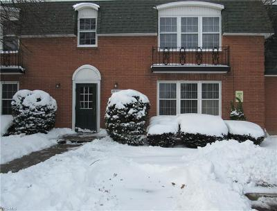 North Olmsted Condo/Townhouse For Sale: 4787 Columbia Rd #102