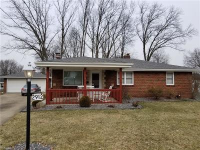 Youngstown Single Family Home For Sale: 2912 Eldora Dr