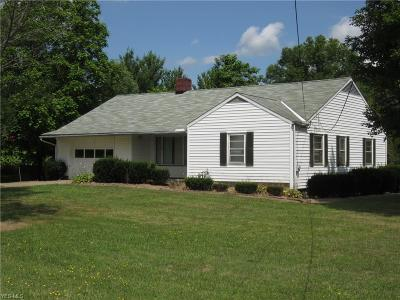 Single Family Home For Sale: 9097 Tallmadge Rd