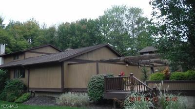 Chagrin Falls Condo/Townhouse For Sale: 17640 Walnut Trl