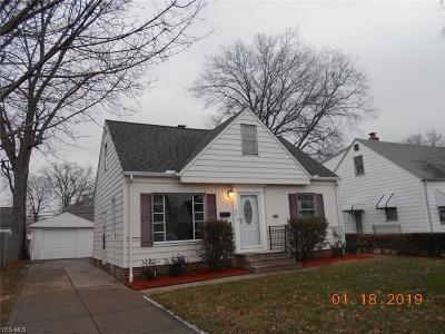 Willowick Single Family Home For Sale: 475 East 329th St