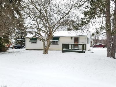 Ashtabula OH Single Family Home For Sale: $64,971
