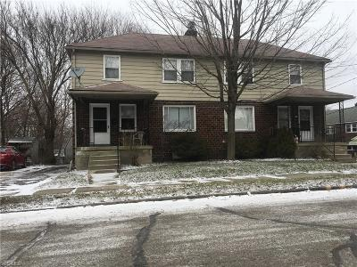 Struthers Multi Family Home For Sale: 2916-2920 Lincoln Ave