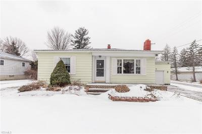 Lorain County Single Family Home For Sale: 6036 Lake Ave