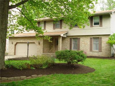 Youngstown Single Family Home For Sale: 8412 Crystal Drive
