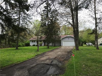 Concord Single Family Home For Sale: 10857 Tanglewood Trl
