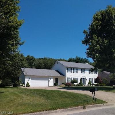 Hubbard Single Family Home For Sale: 135 Forest Hill Dr