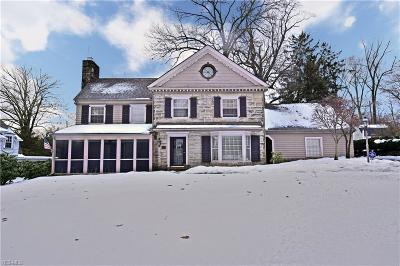 Youngstown Single Family Home For Sale: 50 Forest Hill