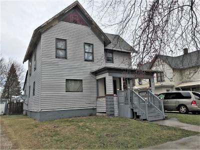Conneaut Single Family Home For Sale: 552 State Street