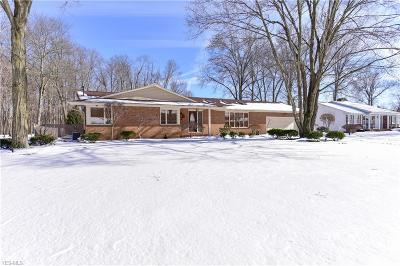 Canfield Single Family Home For Sale: 4477 Little Johns Pl