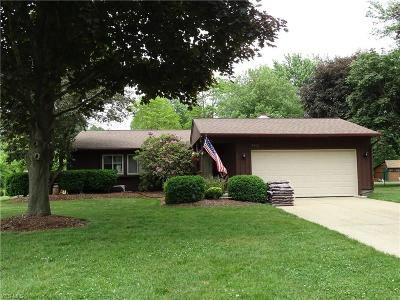Mentor Single Family Home For Sale: 7313 Shenandoah Ct