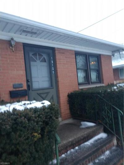 Cleveland OH Single Family Home For Sale: $88,400
