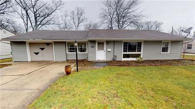 Mentor Single Family Home For Sale: 6460 Iroquois Trl