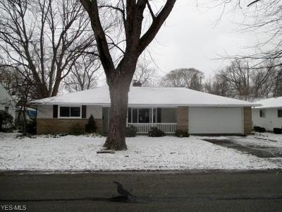 Mentor Single Family Home For Sale: 6376 Seneca Trl