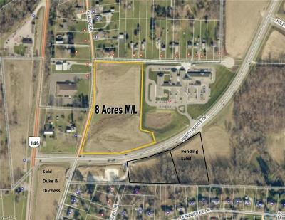 Zanesville Residential Lots & Land For Sale: Kearns Dr- 8 Acres