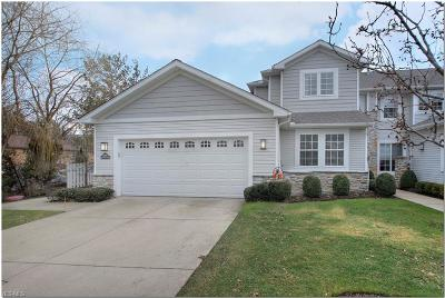 Chagrin Falls Condo/Townhouse For Sale: 145 Blossom Ln #7