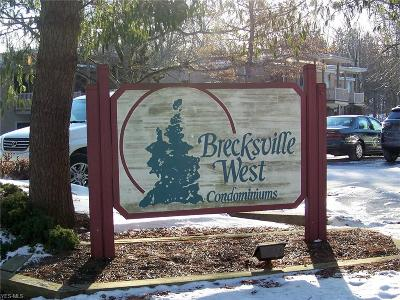 Brecksville Condo/Townhouse For Sale: 6720 Chaffee Ct #4-R