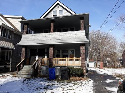 Cleveland Multi Family Home For Sale: 14415 Westropp Ave