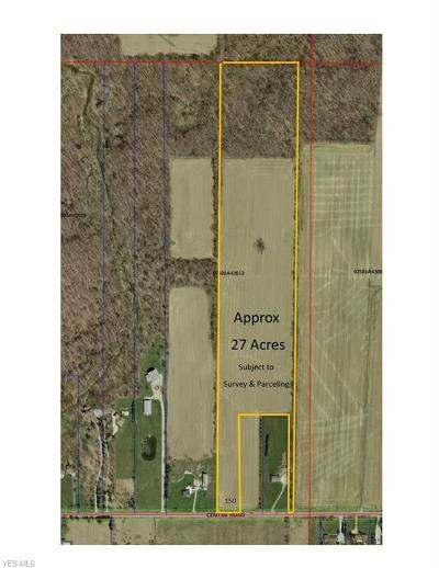 Valley City Residential Lots & Land For Sale: Tbd Center Road