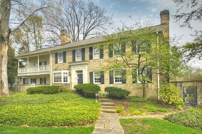 Shaker Heights Single Family Home For Sale: 2723 Cranlyn Rd