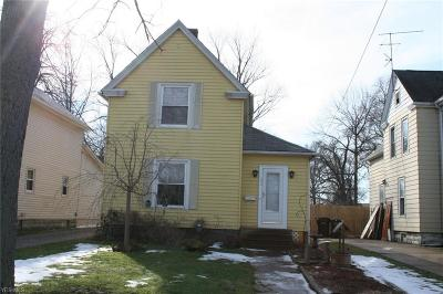 Elyria Single Family Home For Sale: 339 Columbus St