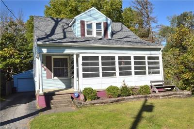 Struthers Single Family Home For Sale: 369 Sexton St