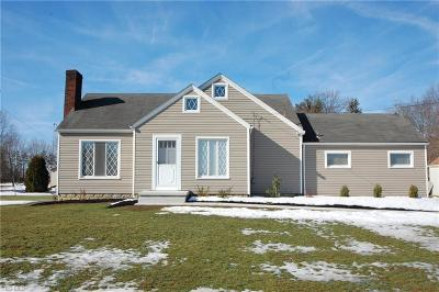 Canfield Single Family Home For Sale: 6150 South Raccoon Rd