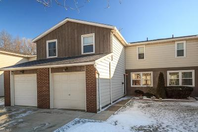 Mentor Condo/Townhouse For Sale: 6793 Kirkwood Dr