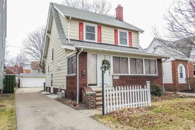 Euclid Single Family Home For Sale: 291 East 211th St