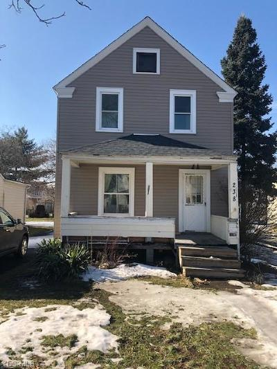 Elyria Single Family Home For Sale: 238 Olive St