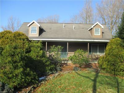 Muskingum County Single Family Home For Sale: 4450 Hill Rd