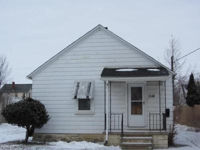 Lorain Single Family Home For Auction: 1140 West 21 St