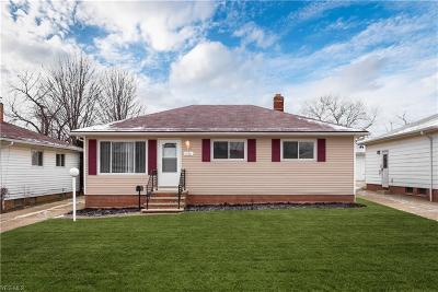Cleveland Single Family Home For Sale: 4188 East 178th St