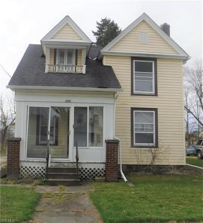 Elyria Single Family Home For Sale: 120 Spruce St