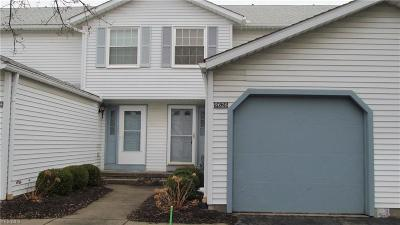 Twinsburg Condo/Townhouse Contingent: 9626 East Idlewood Dr