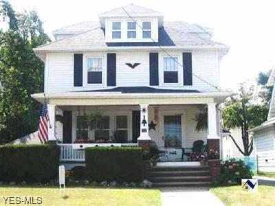 Lorain Single Family Home For Sale: 722 Oberlin Ave