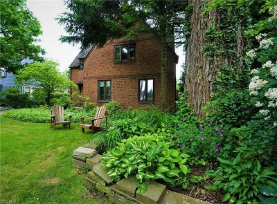 Shaker Heights Single Family Home For Sale: 3361 Chalfant Road