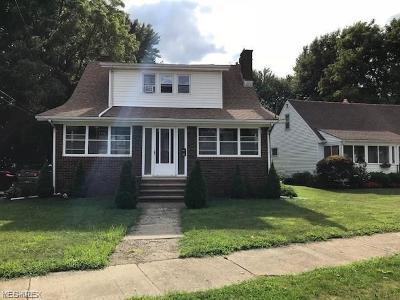 Painesville OH Single Family Home For Sale: $59,545