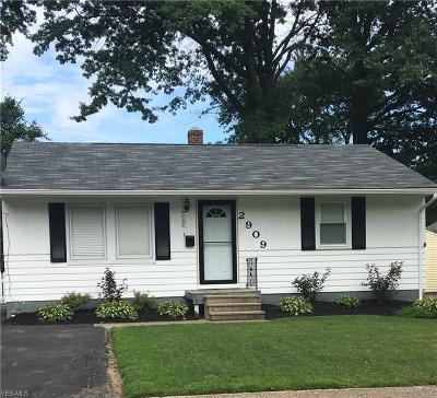 Ashtabula OH Single Family Home For Sale: $129,900
