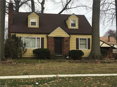 Elyria Single Family Home For Sale: 228 Columbia Ave