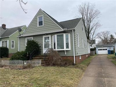 Parma Single Family Home For Sale: 9105 Fernhill Ave