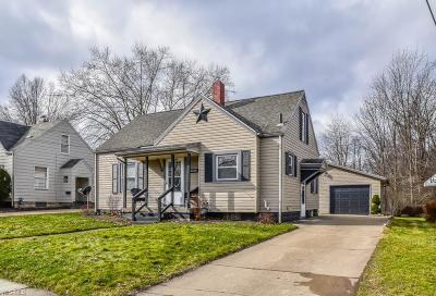 Single Family Home For Sale: 2333 Watson Ave