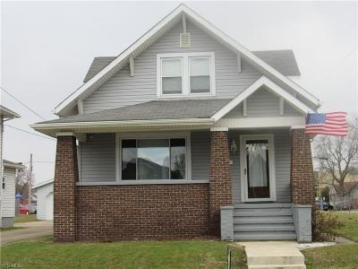 Zanesville Single Family Home For Sale: 703 Seborn Ave