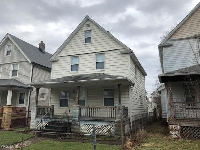 Single Family Home For Sale: 7821 Colgate Ave