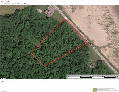 Muskingum County Residential Lots & Land For Sale: State Route 586 Rd