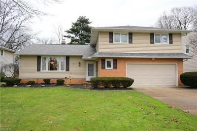 Lyndhurst Single Family Home For Sale: 5147 Hickory Dr